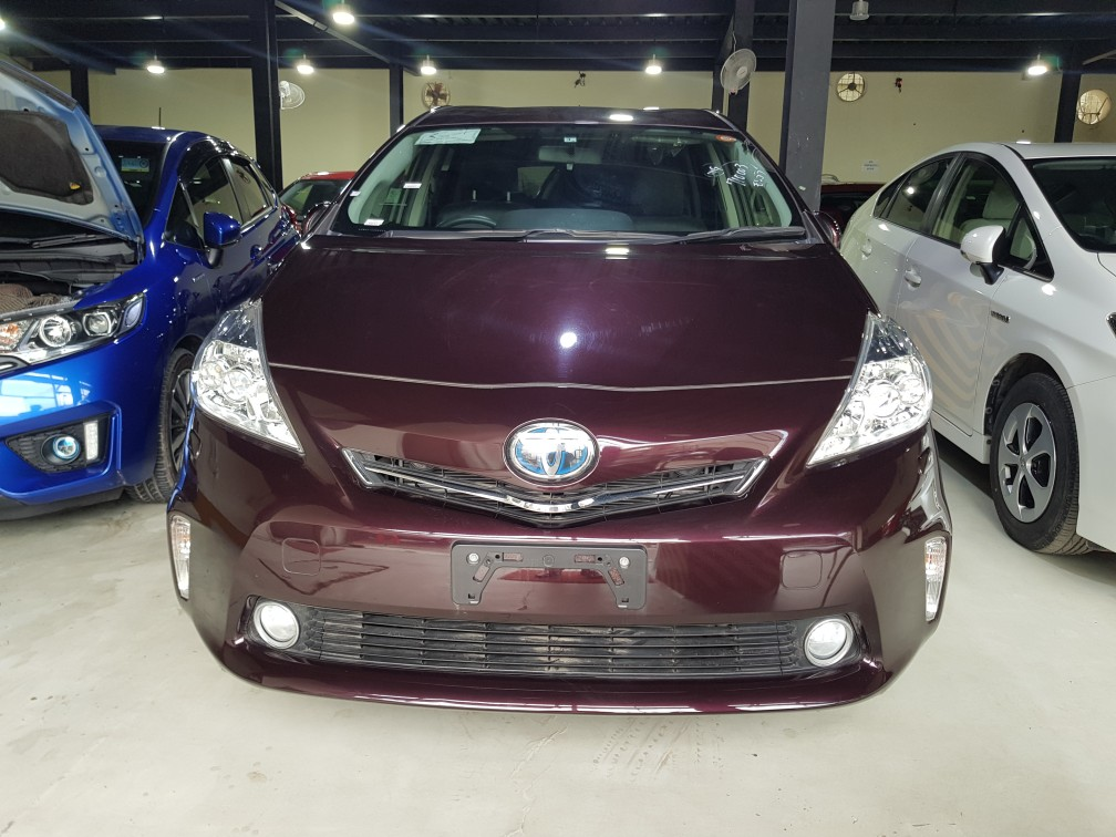Toyota Prius G EX Purple G EX LED LEATHER PACKAGE